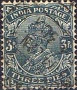 India 1926 King George V SG 201 Fine Used