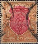 India 1926 King George V SG 215 Fine Used