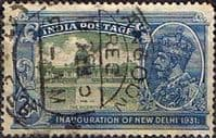 India 1931 King George V Inauguration of New Delhi SG 229 Fine Used