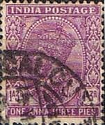 India 1932 King George V  SG 235 Fine Used