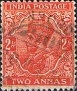 India 1932 King George V  SG 236b Fine Used