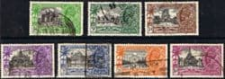 India Stamps 1935 King George V Silver Jubilee Set Fine Used