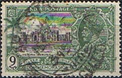Stamps India 1935 King George V Silver Jubilee SG 241 Fine Used SG 241 Scott 143