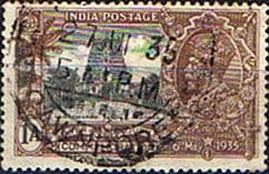 Stamps India 1935 King George V Silver Jubilee SG 242 Fine Used  SG 242 Scott 144