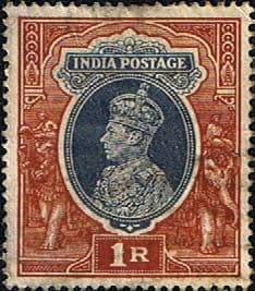 India 1937 King George VI SG 259 Fine Used