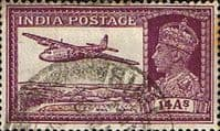 India 1940 King George VI SG 277 Fine Used