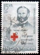 India 1963 Red Cross Centenary Fine Used