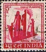 India 1965 SG 506 Family Planning Fine Used