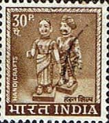 India 1965 SG 512 Indian Dolls Fine Used