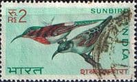 India 1968 Birds SG 581 Sunbird Fine Used
