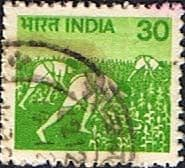 India 1979 SG 926 Harvesting Maize Fine Used