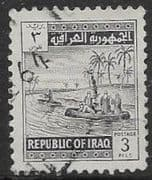Iraq 1963 Gufas on the Tigris SG 622 Fine Used