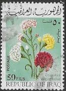 Iraq 1970 Spring Festival. Flowers  SG 896 Fine Used
