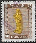 Iraq 1973 Statue of a Goddess  SG 1107 Fine Used