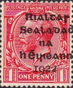 Ireland 1922 Eire Issue SG 2 George V Overprint Fine Mint