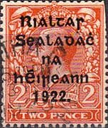 Ireland 1922 Eire Issue SG 29 George V Overprint Used