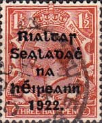Ireland 1922 Eire Issue SG 32 George V Overprint Fine Used