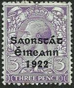 Ireland 1922 Eire Issue SG 57 George V Overprint Mint