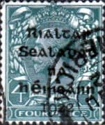 Ireland 1922 Eire Issue SG 6 George V Overprint Fine Used