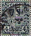Ireland 1922 Eire Issue SG 77 Coat of Arms Fine Used
