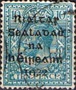 Ireland 1922 Eire Issue SG 9 George V Overprint Fine Used