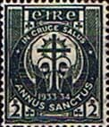 Ireland 1933 Holy Year SG 96 Fine Used
