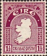 Ireland 1940 Eire Issue SG 113 Map Fine Mint