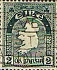 Ireland 1940 Eire Issue SG 114 Map Fine Used
