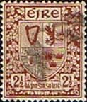 Ireland 1940 Eire Issue SG 115 Coat of Arms Fine Used