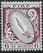 Ireland 1940 Eire Issue SG 119 Sword of Light Fine Mint