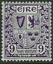 Ireland 1940 Eire Issue SG 120 Coat of Arms Fine Mint