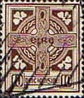Ireland 1940 Eire Issue SG 121 Celtic Cross Fine Used