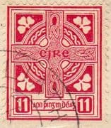 Ireland 1940 Eire Issue SG 121b Celtic Cross Fine Used