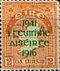 Ireland 1941 SG 126 Easter Rising Overprint Fine Used