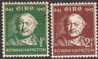 Ireland 1943 Discovery of Quaternions Set Fine Mint