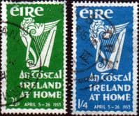 Ireland 1953 An Tostal Set Fine Used