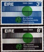Ireland 1965 International Telecomunication Union Set Fine Mint