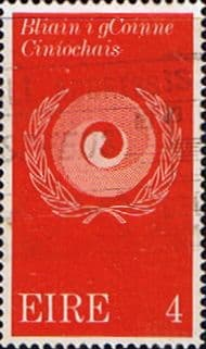 Ireland 1971 Racial Equality Year Sg 307 Fine Used