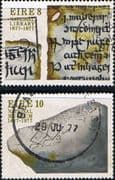 Ireland 1977 National Library and Museum Set Fine Used