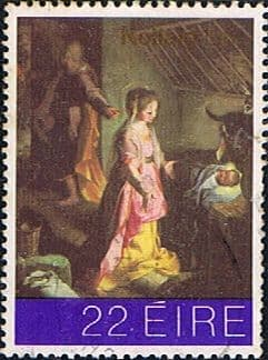 Stamp Stamps Eire Ireland 1981 Christmas SG 506 Fine Used Scott 511