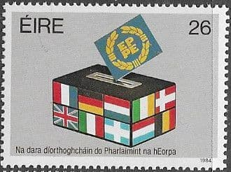 Ireland 1984 Second Direct Elections to European Assembly  Fine Mint