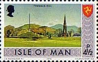 Isle of Man 1973 Independent Postal Administration SG 20 Fine Mint