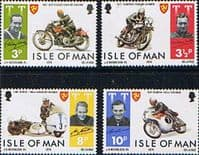 Isle of Man 1974 Tourist Trophy Motorcycle Racing Set Fine Mint