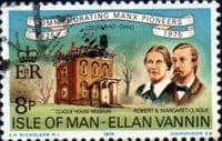 Isle of Man 1975 Manx Pioneers in Cleveland SG 61 Fine Used