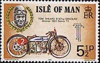 Isle of Man 1975 Tourist Trophy Motor-cycle Races SG 63 Fine Mint