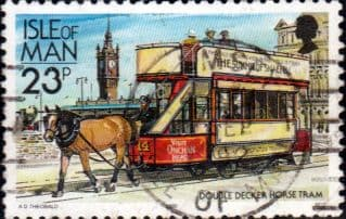 Isle of Man 1988 Manx Railways and Tramways SG 377b Fine Used
