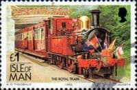 Isle of Man 1988 Manx Railways and Tramways SG 380 Fine Used