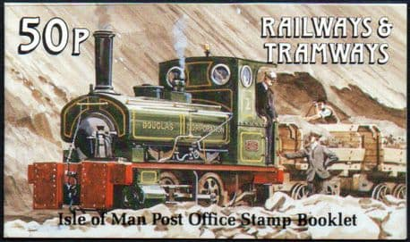 Postage Stamps Isle of Man 1988 Manx Railways and Tramways SG 369 Fine Used