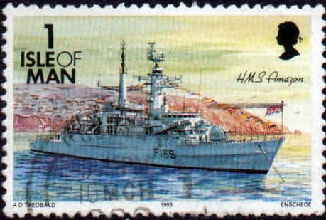 Postage Stamps Isle of man 1993 Ships SG 540 Fine Used