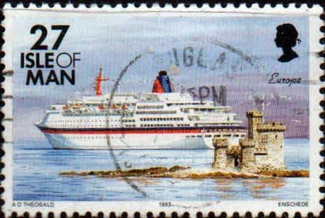 Postage Stamps Isle of man 1993 Ships SG 541 Fine Used